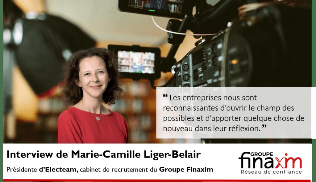 Interview de Marie-Camille Liger-Belair