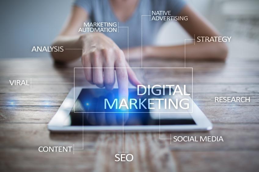marketing digital à temps partagé