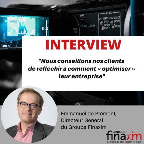 Interview Emmanuel de PREMONT sur la crise du Coronavirus